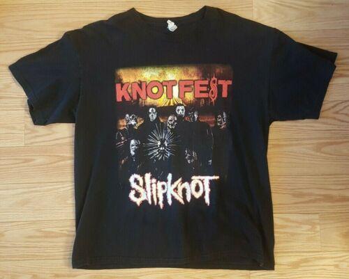 """Slipknot """"Knotfest 2014"""" Concert Shirt Size XL Dan"""