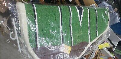 Abetta Round Fleece Back Shock Absorbing Cordura Barrel Saddle PAD 31x28 SALE!!