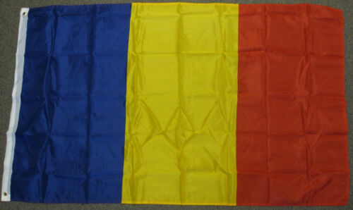 3X5 ROMANIA FLAG ROMANIAN FLAGS EUROPEAN NEW EU F184