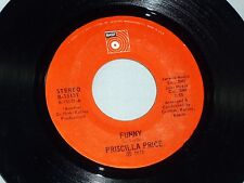 Priscilla Price: Funny / Only Yesterday   [Unplayed Copy]