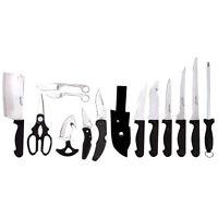 15pc Outdoorsman's Set.pocket Knife.butcher.combo Knives Hunting.sport Blade