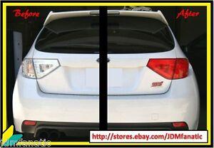 WRX STi Hatchback TailLight PRECUT JDM FULL REDOUT RED