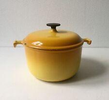 Enzo Mari Design le creuset Cocotte design années 50 70 vintage Cooking Pot