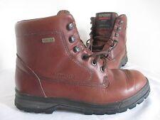 MEPHISTO LIFESTYLE SLACKER Gore-Tex Brown LEATHER Hiking Boots Wo's EU 6.5 US 9