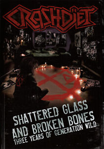CRASHDIET-Shattered-Glass-And-Broken-Bones-DVD-Glam-Sleaze-Metal