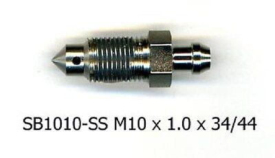 M10 X 1.0 Wagner Metric Bleeder Screw 32.75mm X F105396