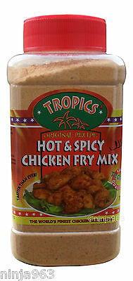 Tropics Kentucky Southern Fried  Hot & Spicy Original Coating Chicken Fry Mix