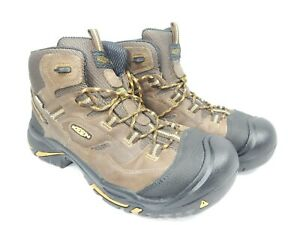 Keen-Braddock-mi-Taille-12-2E-Large-Eu-46-Homme-Wp-Souple-Orteil-Travail-Bottes
