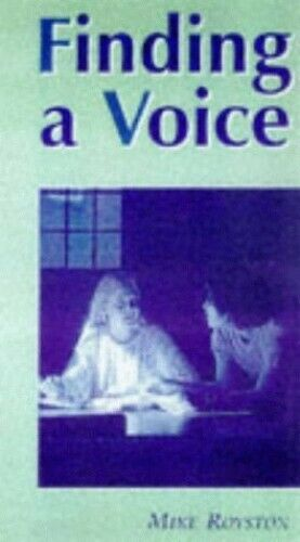 Finding a Voice: Personal Response to A-Level Engl... by Royston, Mike Paperback