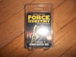 Star Wars Force and Destiny Starfighter Ace Specialization Deck Fantasy Flight Games