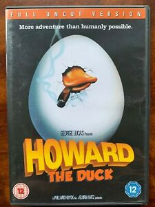 Howard-el-Pato-DVD-1986-George-Lucas-Culto-Aventura-Pelicula-Clasica-Uncut