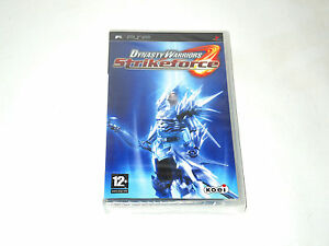 DYNASTY-WARRIORS-STRIKEFORCE-new-factory-sealed-Sony-PSP-game