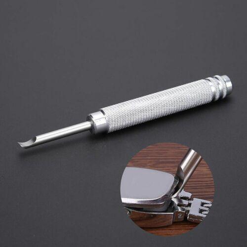 Uhrenmesser Gehäuseöffner Öffner Messer Silber Stahl Uhrenöffner  Werkzeug Tool