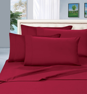 True Luxury 1000-Thread-Count 100% Egyptian Cotton Bed Sheets, 4-Pc King Sheet