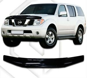 Image Is Loading Scoutt Hood Deflector Bonnet Guard Protector For Nissan