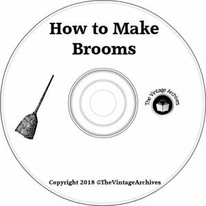How-to-Make-Brooms-4-Vintage-Books-on-CD