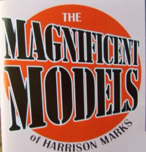 """/""""Magnificent Models of Harrison Marks No 1./"""" 1950/'s 1960/'s studies."""