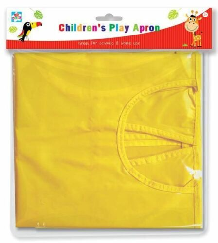 Messy Play Kids Create Children Play Apron Art Craft Painting Cover Play Apron