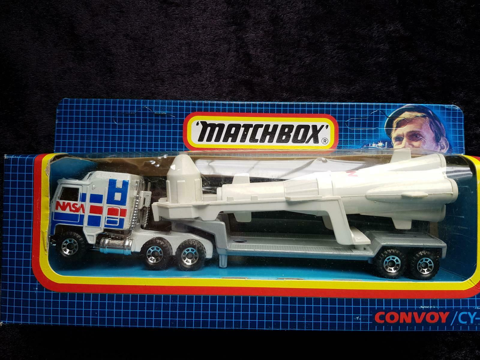 1987 MATCHBOX CONVOY CY-17 NASA ROCKET LAUNCHER  - EX COLLECTOR'S STOCK - in BOX