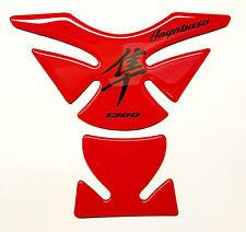 Suzuki Hayabusa Red Glossy Tank Protector Pad Sticker trim guard decal