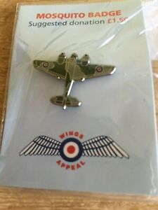 100 Years of RAF//Spitfire Badge//Pin-Brand New--All proceeds to Wings Charity