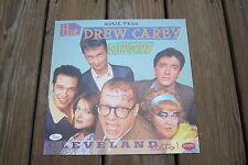Drew Carey - Signed Drew Carey Show promo flat. Comic Legend.