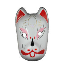 Anime Naruto ANBU Ninja Fox Mask Cool Party Halloween Cosplay Costume Accessory