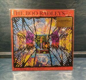 THE BOO RADLEYS Everything's Alright Forever LP on ORANGE VINYL Near Mint 180g