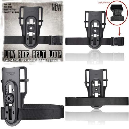 Low Ride Belt Loop Cytac R-Defender Compatible Holsters Long-lasting Free Adjust