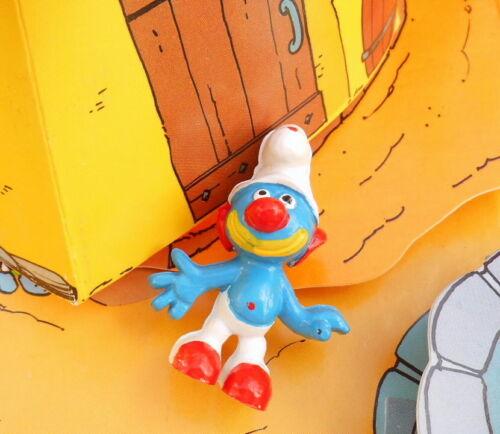 Grotesque plagiarism clown smurf smurf pitufo puffi smurfette raris.