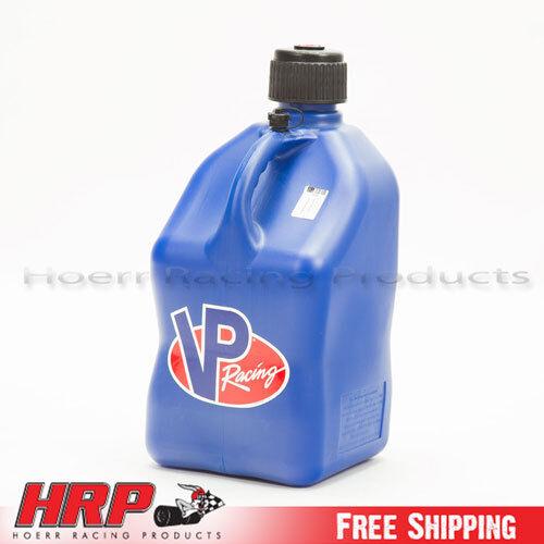 VP Race Fuel 5 Gallon Square Blue Multipurpose Jug Gas Can Motorsports