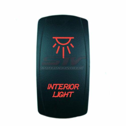 Motor Laser 12V 20A Toggle Rocker Switch RED LED INTERIOR LIGHTS Lighted