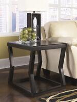 Ashley Furniture Rectangular End Table Kelton Espresso T592-3 Table