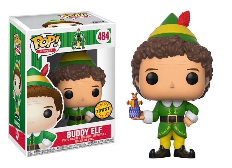 ELF - Inseguimento Buddy ELF 9.5cm POP FILM VINILE PERSONAGGIO Funko 484 NATALE