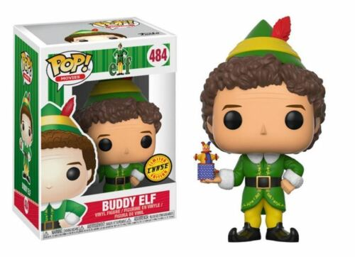 "ELF-Chase Buddy ELF 3.75/"" POP Figura in vinile MOVIES FUNKO 484 Natale"