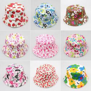 3953a5754dd75 Cute Baby Cap Boonie Hunting Summer Kids Bucket Hat Fishing Fashion ...