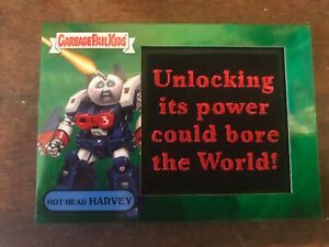 Garbage-Pail-Kids-GPK-2018-We-Hate-the-80s-Patch-Card-3a-Hot-Head-Harvey-32-50