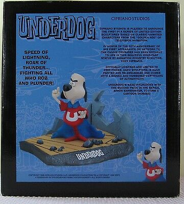 Underdog and Polly Purebred 2 Silver Plated Spoons Featuring Underdog