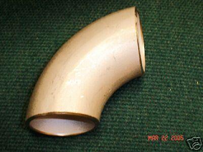 """2/"""" Stainless Steel Butt Weld Sch 10 90 Degree Ell"""