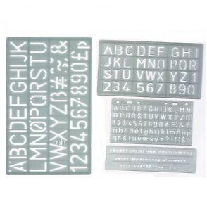 5mm-10mm-20mm-amp-30mm-Set-4-mayusculas-del-alfabeto-y-numeros-letras-Stencil-Craft