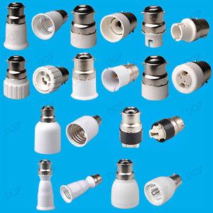 B22-to-E14-B15-BC-ES-MR16-GU10-Light-Bulb-Adaptor-Lamp-Socket-Extender-Converter