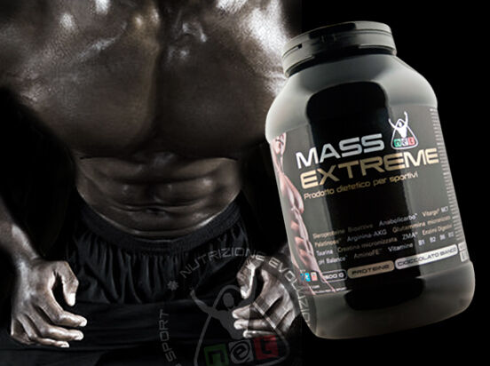 Net Integratori POST-WORKOUT MASS EXTREME - 1500g gusto Cioccolato