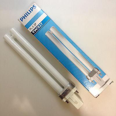 Philips PL-S 9w 827 G23 2P 2700K Warm White compact fluorescent lamp