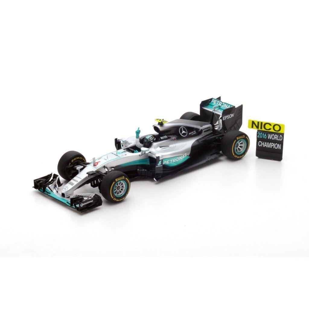 Spark 1  18 Mercedes F1 W07 Hybrid n.6 2 a Abu Dhabi GP 2016 18S250