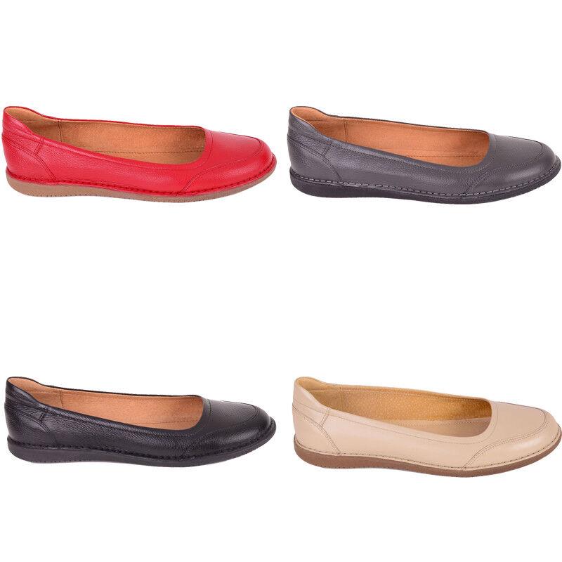 Halbschuhe Damenschuhe Lederschuhe Hersteller Ballerinas Schuhgröße 36-41 vom Hersteller Lederschuhe a933cd