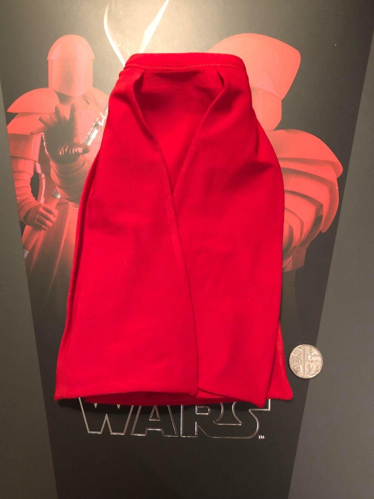 Hot Toys Star Wars Praetorian Guard DB Lower Red Skirt Cloak loose 1 6th scale