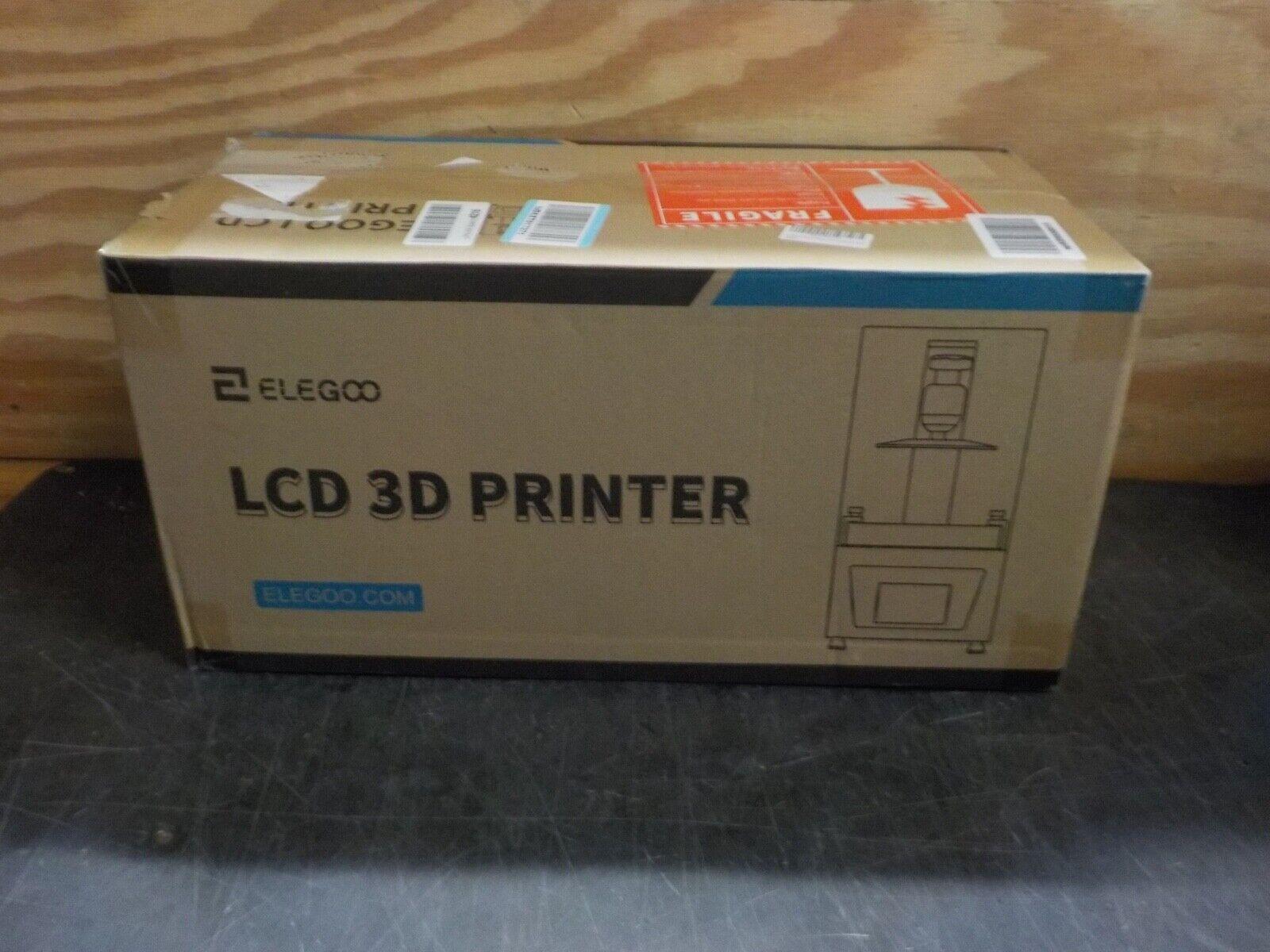 ELEGOO Mars 2 Mono MSLA 3D Printer UV Photocuring LCD Resin 3D Printer