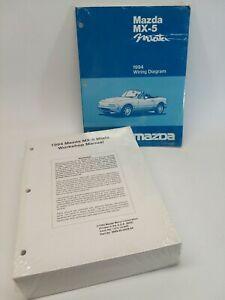 OEM 1994 MX-5 Mazda Miata SEALED/NEW Workshop Manual ...