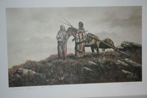 "Canadian Artist John Crittenden Prints 13/"" x 20/""  Canadian Transportation"