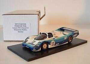 Mini-Racing-1-43-Porsche-956L-24h-LeMans-1983-11-J-David-Fitzpatrick-Hobbs